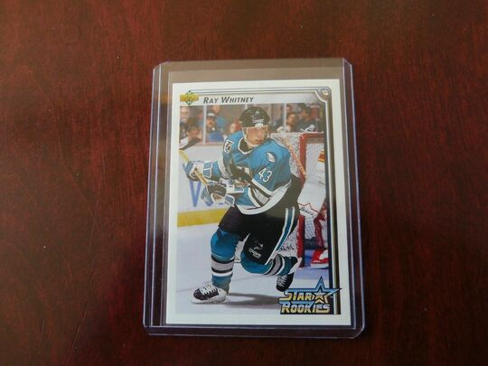 1992-93 Upper Deck Ray Whitney Rookie