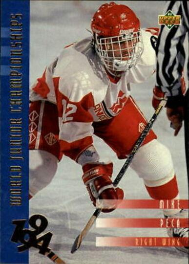 1993-94 Upper Deck Mike Peca Rookie