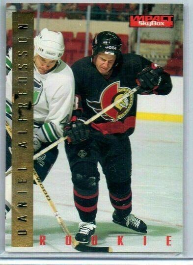 1995-96 Impact Skybox Daniel Alfredsson Rookie