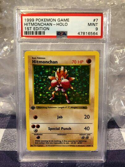 Pokemon 1st Edition Base Hitmonchan