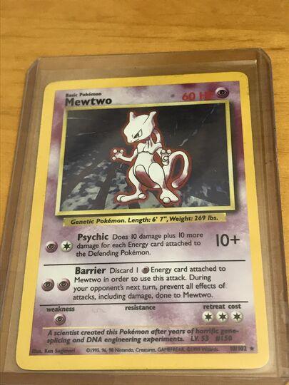 mewtwo 10/102