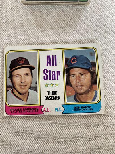1974 topps baseball card 334