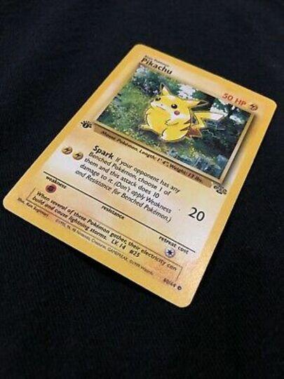 Pokemon Pikachu 60/64