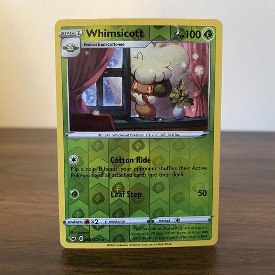 Whimsicott 006/202 Reverse Holo