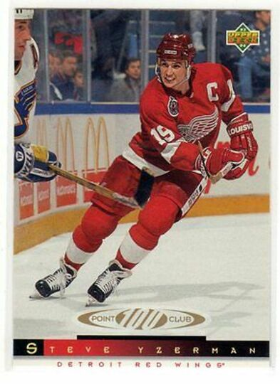 1993-94 Upper Deck Steve Yzerman 227