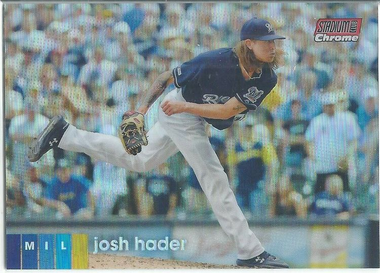 Hader, Josh 2020 Stadium Club Chrome #181