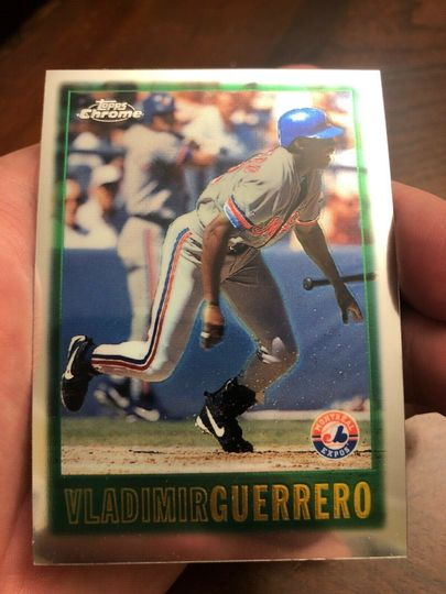 Guerrero, Vladimir 1997 Topps Chrome 153