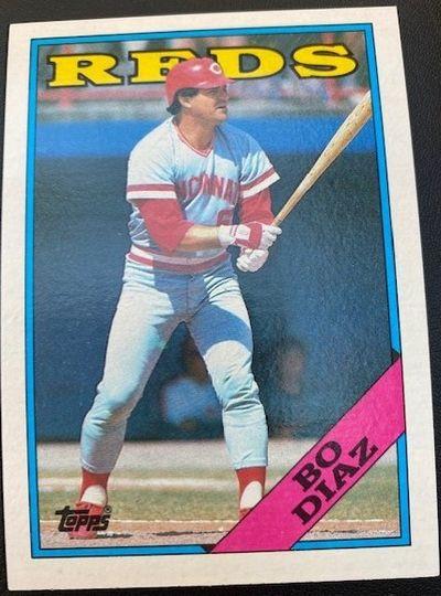1988 Topps Reds Bo Diaz 265