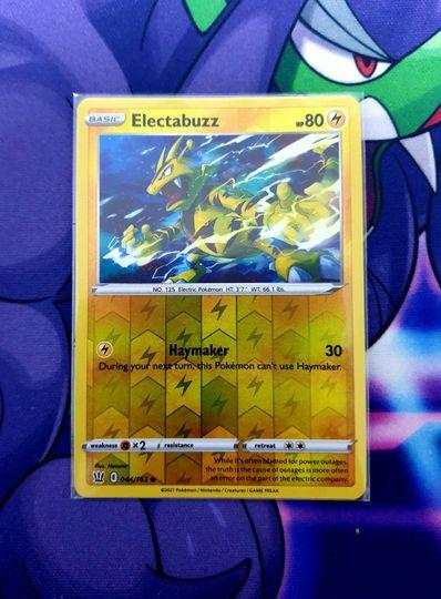 Electabuzz (044/163) Reverse Holo