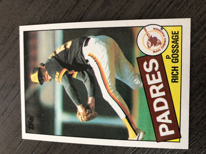 1985 TOPPS RICH GOSSAGE 90