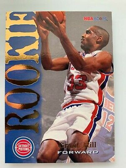 1995 Grant Hill rookie