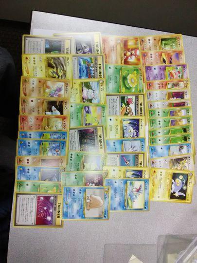 Neo Genesis Japanese lot
