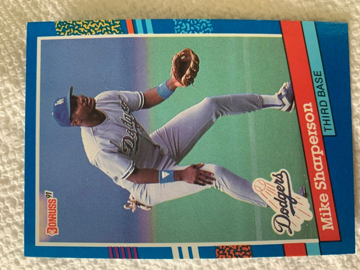 1991 Donruss Mike Sharperson 168