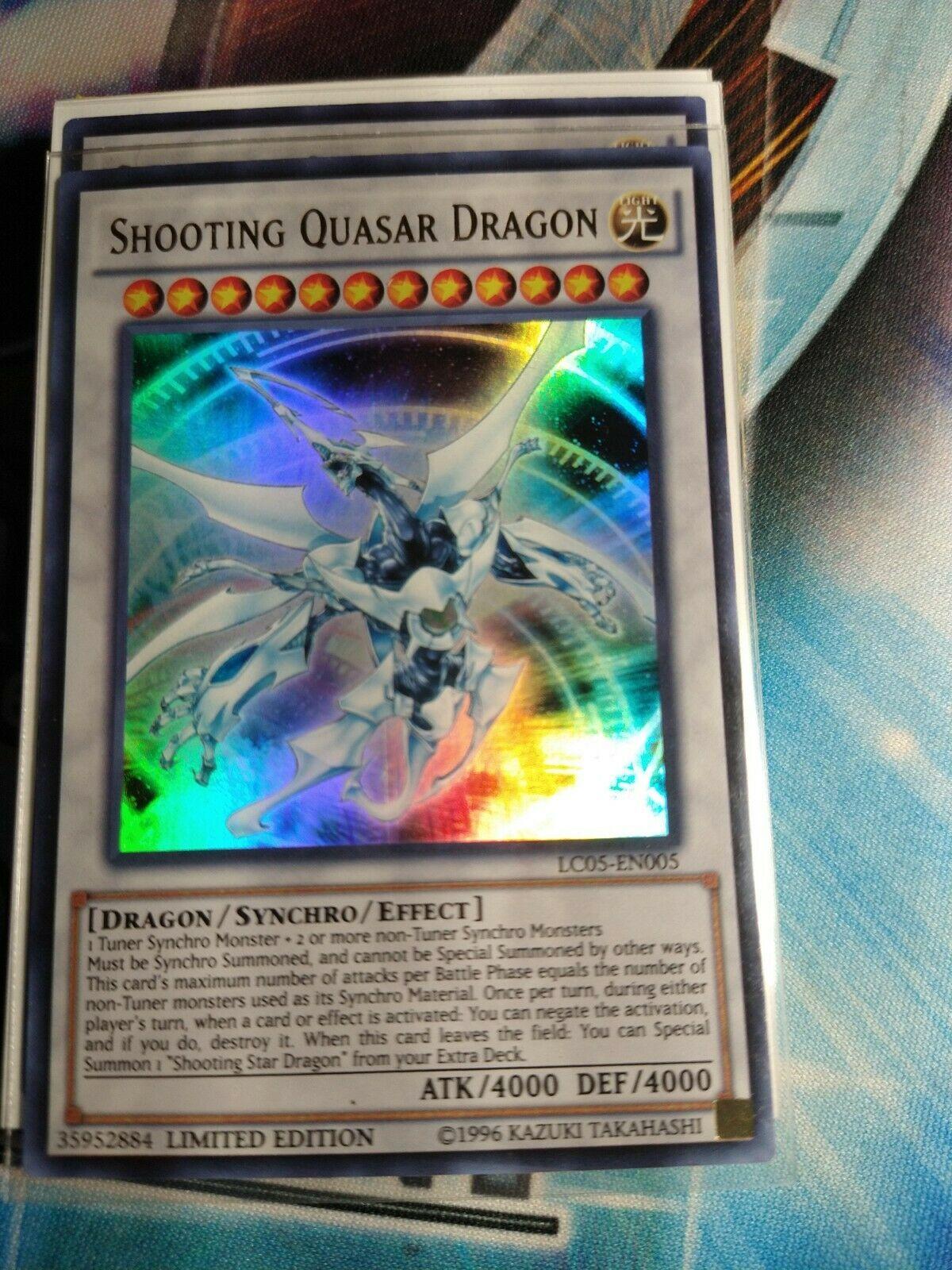 1X NM Shooting Quasar Dragon LC05-EN005 Ultra Rare Limited Edition yugioh
