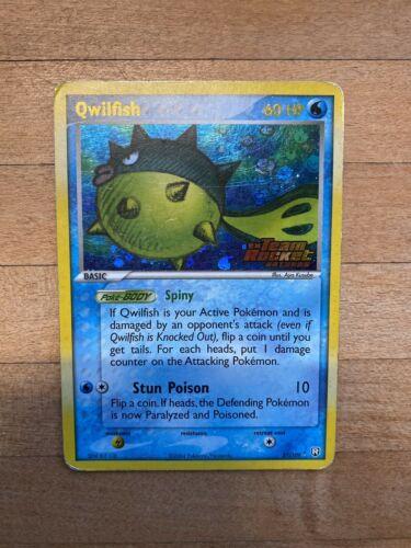 Qwilfish Ex Team Rocket Returns Rare Holo Pokemon Card 27/109 - Image 1