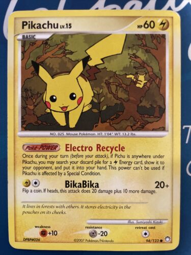 Pokemon ARON LV.15 71//123 COMMON NM CARDS MYSTERY TREASURES