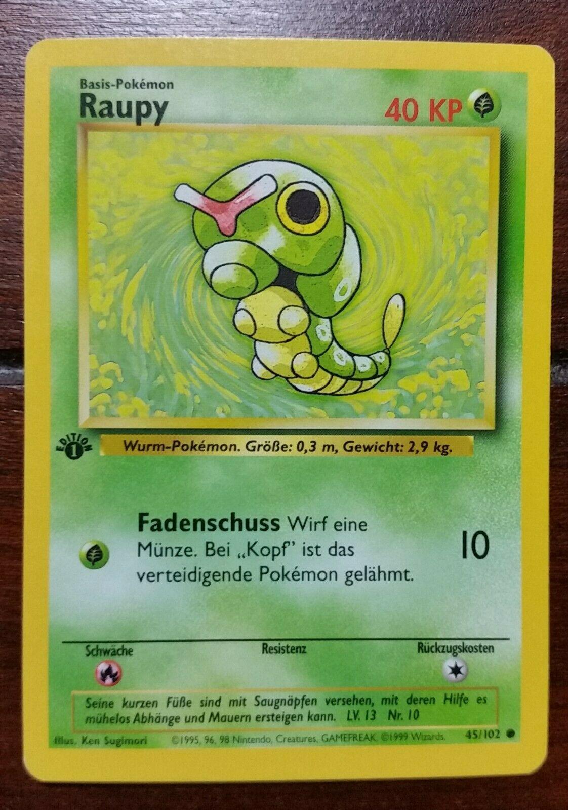 54//102 Safcon deutsch Pokemon Karte Trading Card Game Basis Set Nr