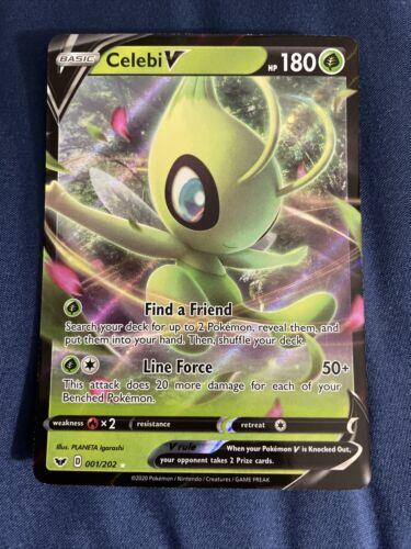 Custom Pokemon Card Shadow Celebi V