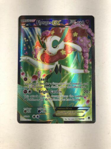 Florges EX 116//119 Full Art Pokemon Karte NMFlorges EX EN Holo