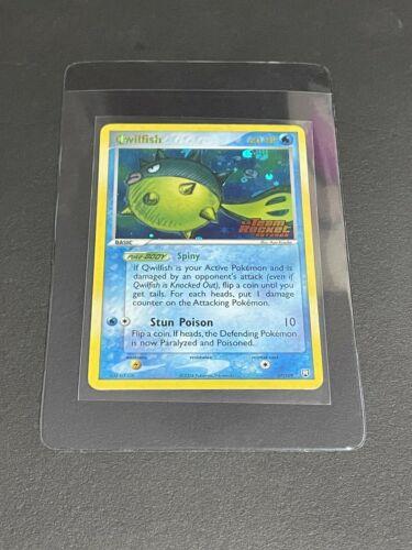 Qwilfish 27/109 Team Rocket Returns Rare Stamped Holo Pokemon TCG 2004 NM - Image 1
