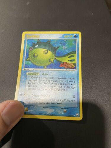 Qwilfish 27/109 Team Rocket Returns Rare Stamped Holo Pokemon TCG 2004 NM - Image 5