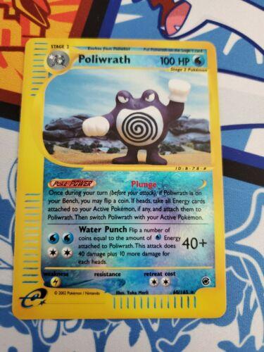 24//165 Expedition Holo Rare Pokemon G2 1 x Poliwrath