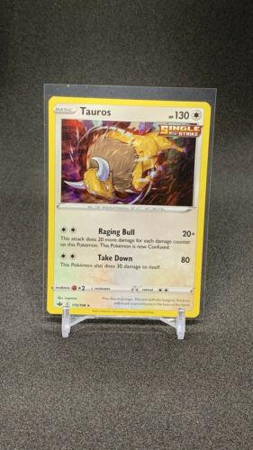 Pokemon Chilling Reign Holo Tauros 115/198
