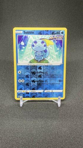Pokemon TCG Chilling reign reverse holo Sobble 041/198 NM