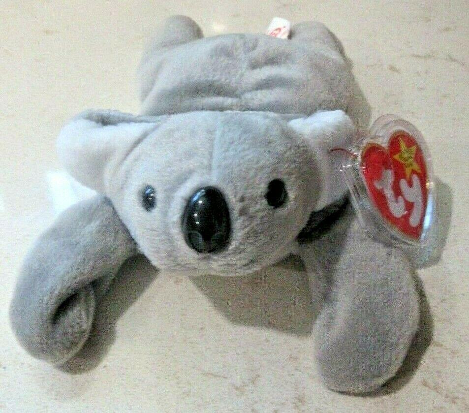 "Details about  /Ty TEENIE 3"" Beanie Babies 1998 #7 Mel The Koala Bear w// Tag Excellent NIP"