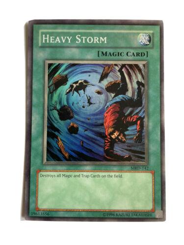 Magic Card MRD-102 Near Mint Heavy Storm NM Yugioh Trading Card