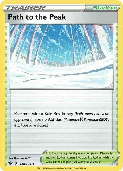 4x Path to the Peak 148/198 NM|M- Chilling Reign Pokemon