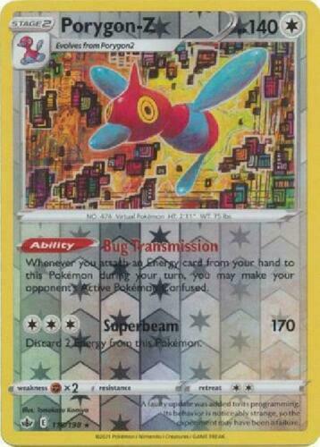 Pokemon - Porygon-Z - 118/198 - Reverse Holo Rare - Chilling Reign - NM/M