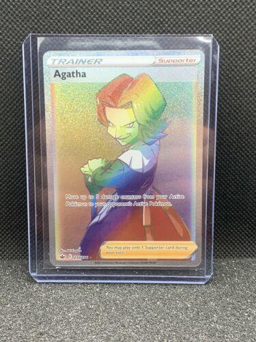 2021 Pokemon Chilling Reign Agatha Secret Rare 210/198