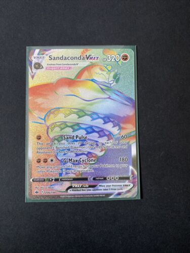 Sandaconda VMAX 206/198 - Chilling Reign - Pokemon TCG Card - NM