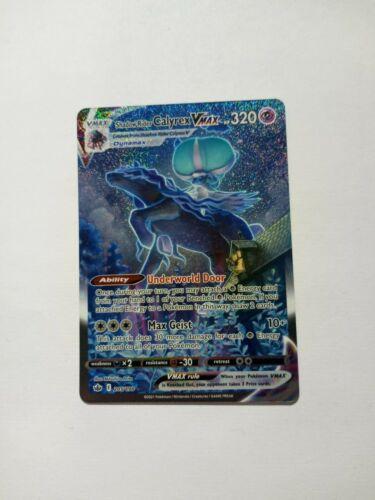 Pokemon - Chilling Reign Shadow Rider Calyrex VMax Alternate Art 205/198 - NM OC