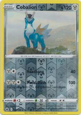 Pokemon - Cobalion - 114/198 (Reverse Foil) - SWSH Chilling Reign - Holo Rare