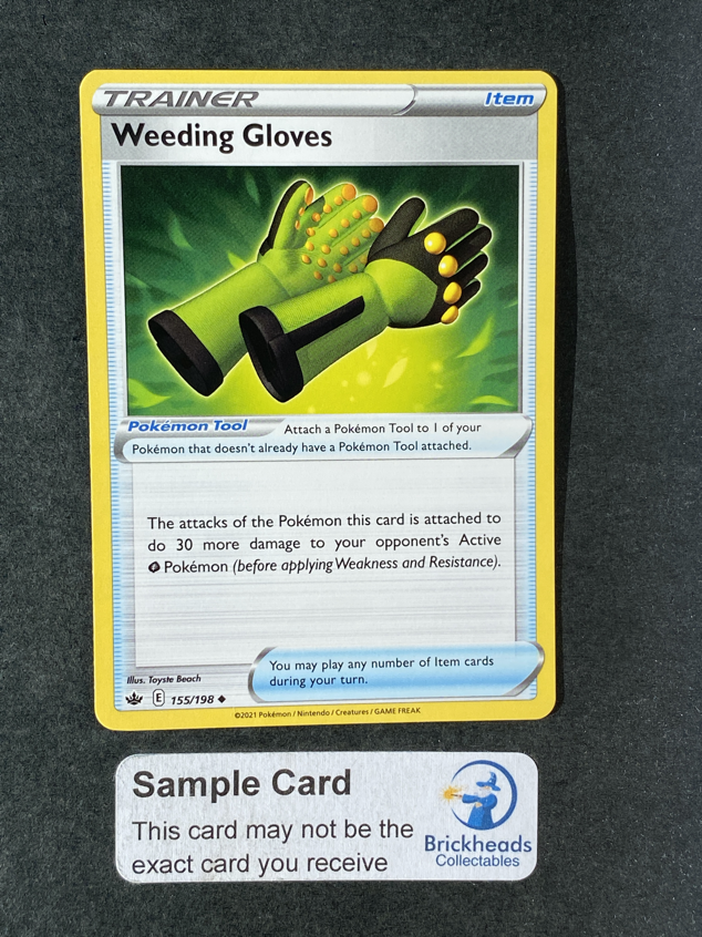 Weeding Gloves 155/198 Trainer | SWSH: Chilling Reign | Pokemon Card