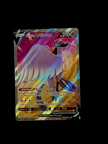 Galarian Articuno V 169/198 Chilling Reign NM/M Pokemon TCG Free Ship!