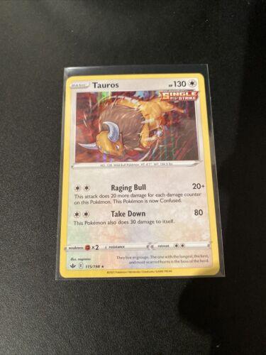 Pokemon - Tauros - Chilling Reign - 115/198 - Holo Rare