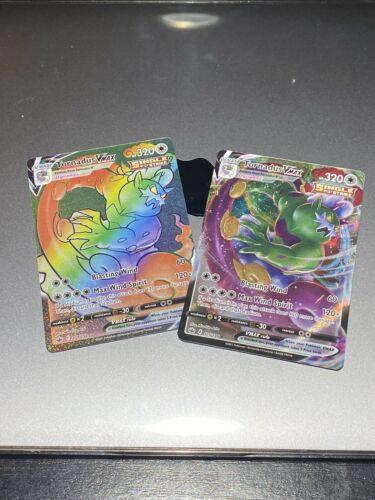 Pokemon TCG - TORNADUS VMAX 209/198 RAINBOW RARE + 125/198 - CHILLING REIGN Mint