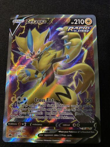 Pokemon: Chilling Reign - Zeraora V Rapid Strike 165/198 - Full Art - NM / M