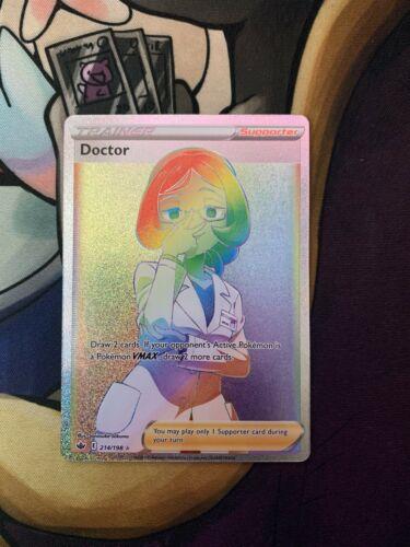 Doctor Rainbow Rare Pokémon Chilling Reign 214/198