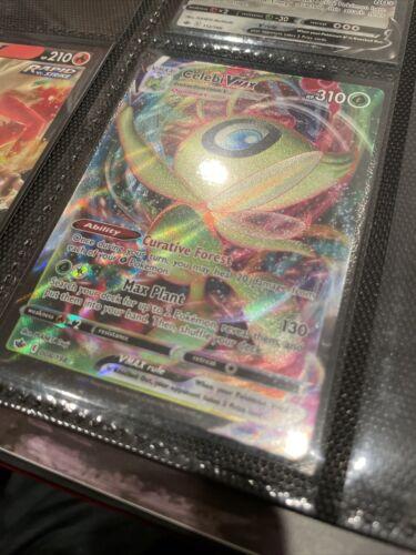 Pokemon  -  Celebi VMAX - 008/198 - Full Art - Chilling Reign  - NM/M