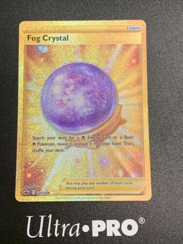 Pokemon - Fog Crystal - Gold Secret Rare Trainer - Chilling Reign 227/198 Mint🔥