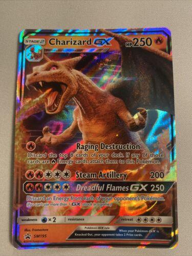 Charizard GX Pokémon Promo SM195