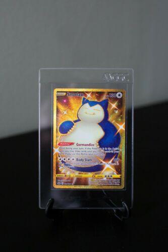 SNORLAX Gold Secret Rare 224/198 Chilling Reign Pokemon - Mint Condition