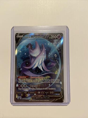 Galarian Articuno V 170/198 Alternate Full Art Chilling Reign Pokemon Card