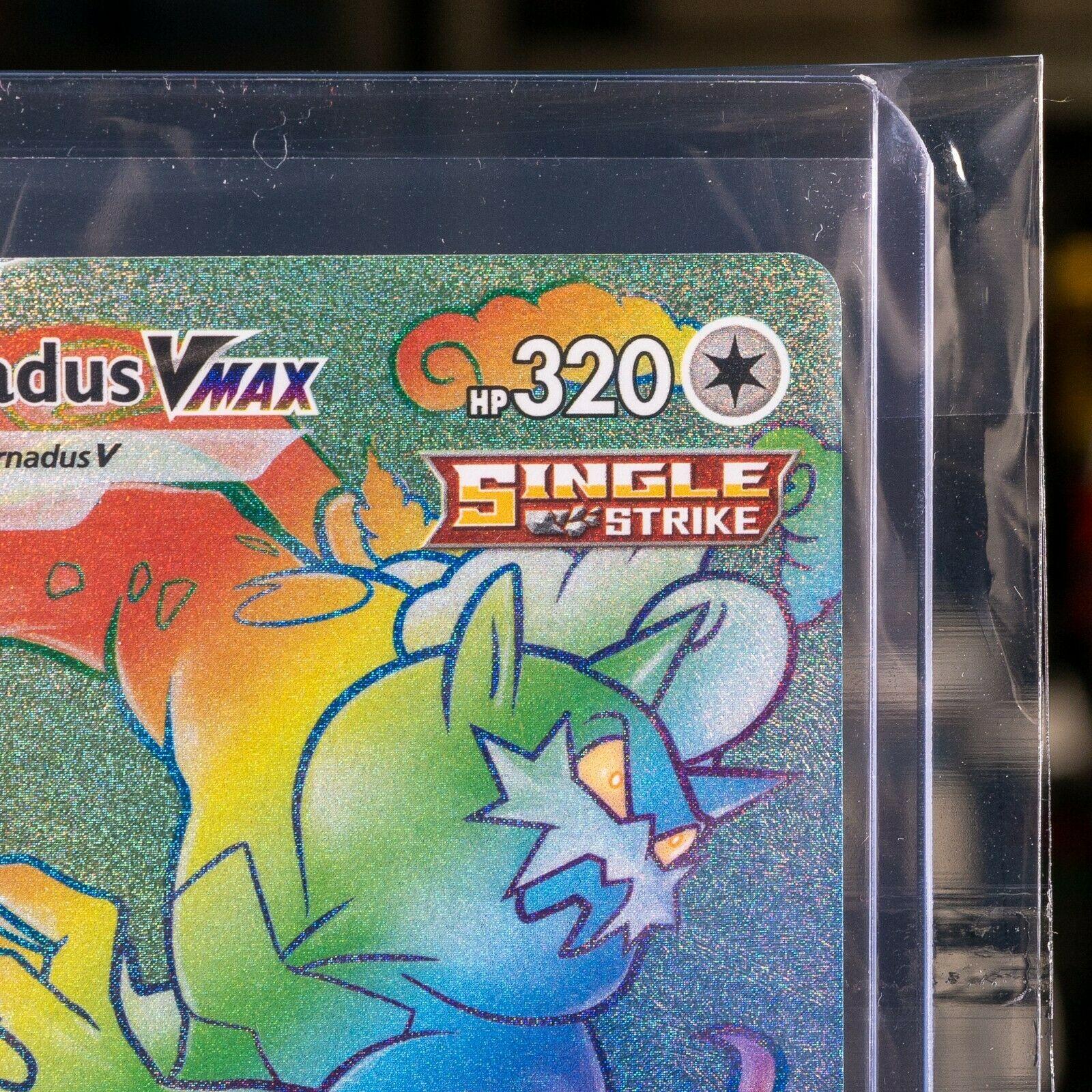 Tornadus VMAX - #209/198 - Secret Rainbow Rare Pokemon: Chilling Reign - Image 3