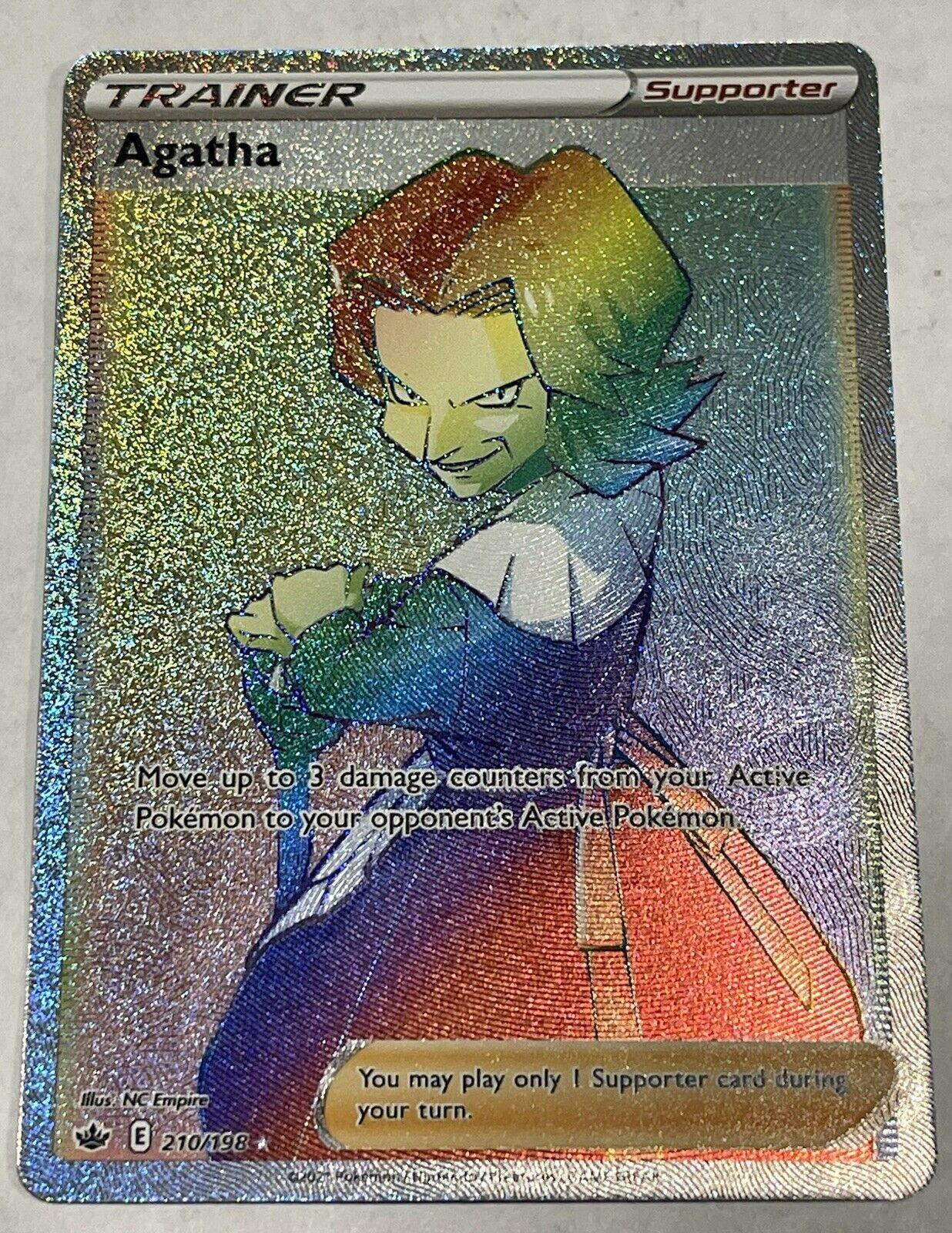 Agatha Rainbow- Chilling Reign - 210/198 - Secret Rare