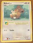 Bidoof 73/123 Pokémon 2007 Mysterious Treasures Common ~Near Mint/Mint